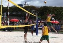 Océania de beach-volley : Victoire pour l'Australie et le Vanuatu