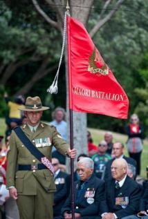 Dernière réunion de l'association des vétérans du Bataillon Maori du Pacifique