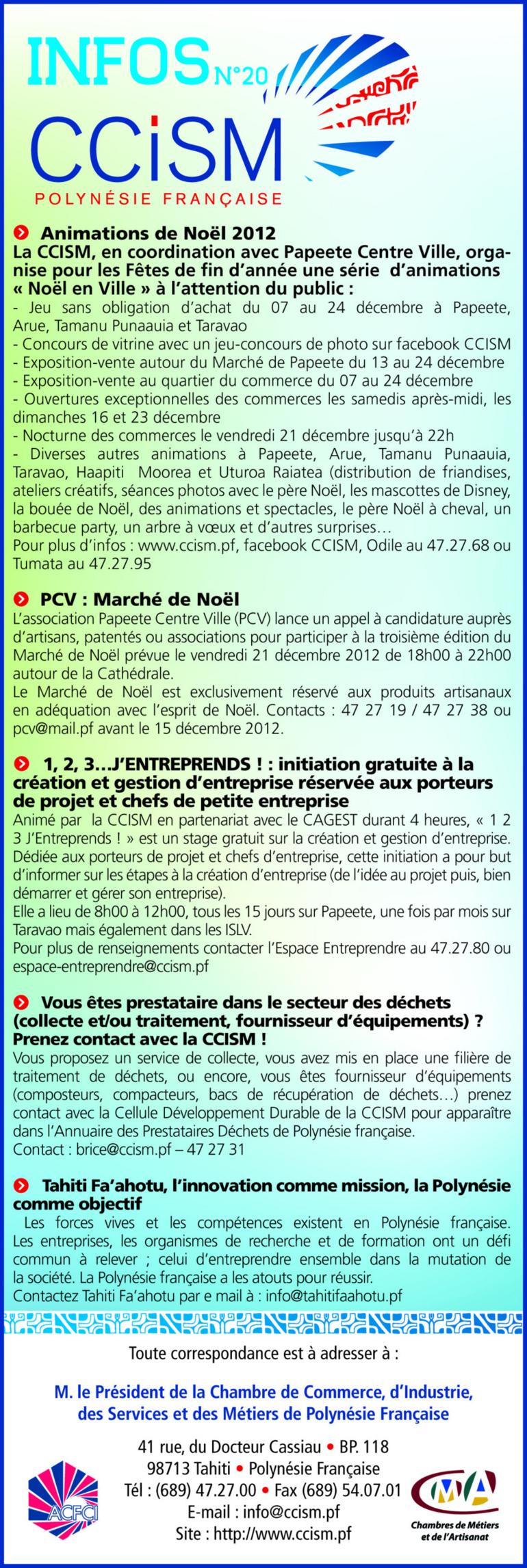 Infos CCISM N°20