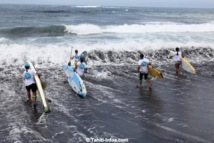 Stand up Paddle : Iron Sup Challenge Taharu'u