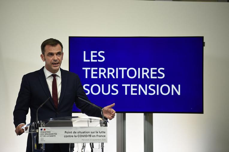 """Covid-19: """"renforcée"""" ou """"maximale"""", alerte rouge sur la France"""