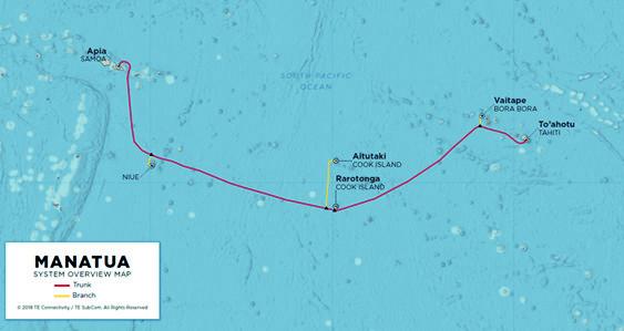 La Polynésie fournit le haut-débit aux îles Cook