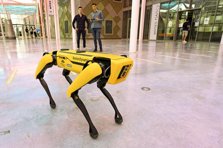 Nancy: un robot-chien pour remplacer l'homme dans les endroits dangereux