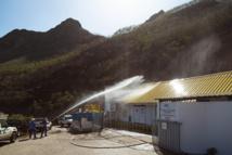 Exercice incendie à la centrale EDT