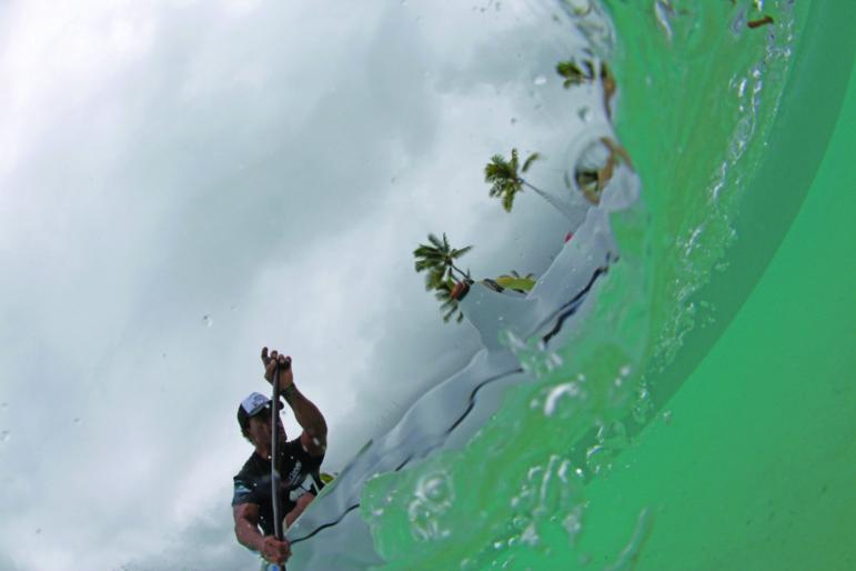 Bora-Bora KXT Ironmana Race 2012: l'âme des guerriers