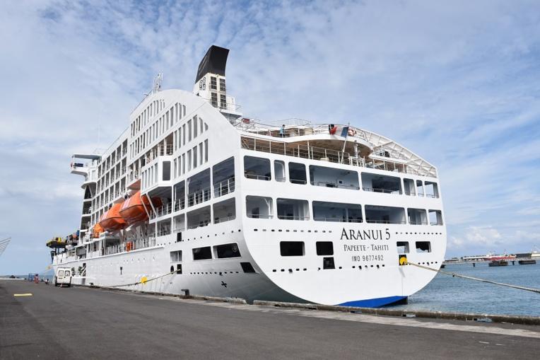 Faux départ pour l'Aranui après des cas Covid dans l'équipage