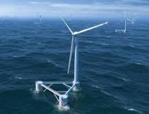 """Des éoliennes flottantes """"auto-stabilisées"""", le pari d'une start-up provençale"""
