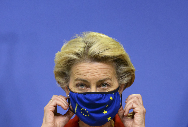 La présidente de l'exécutif européen, Ursula von der Leyen.