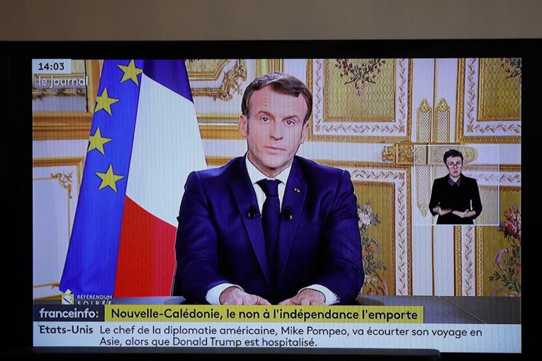 """Nouvelle-Calédonie: Macron exprime sa """"reconnaissance"""" après la victoire du non à l'indépendance"""