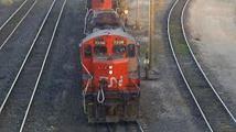 Un train de biodiesel faisait des aller-retour entre le Canada et les USA