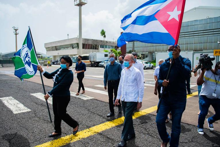 En Martinique, les médecins cubains n'ont pas totalement convaincu