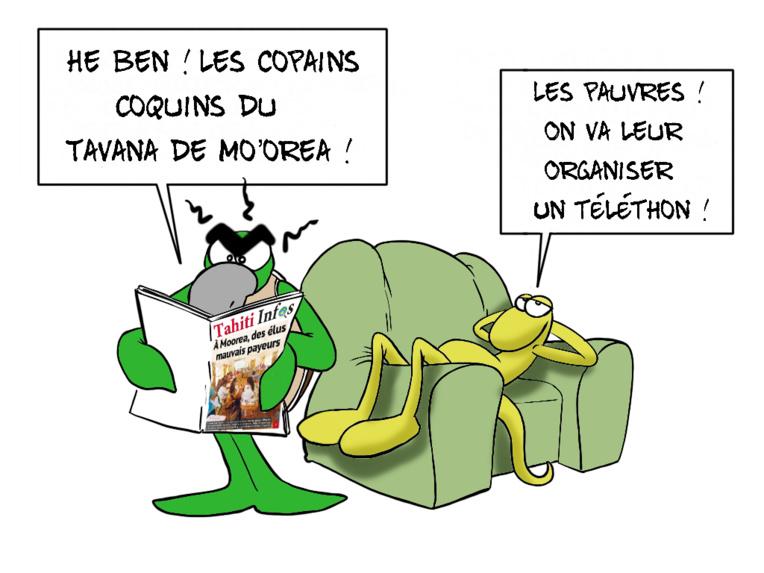 """""""Des élus mauvais payeurs"""", par Munoz"""