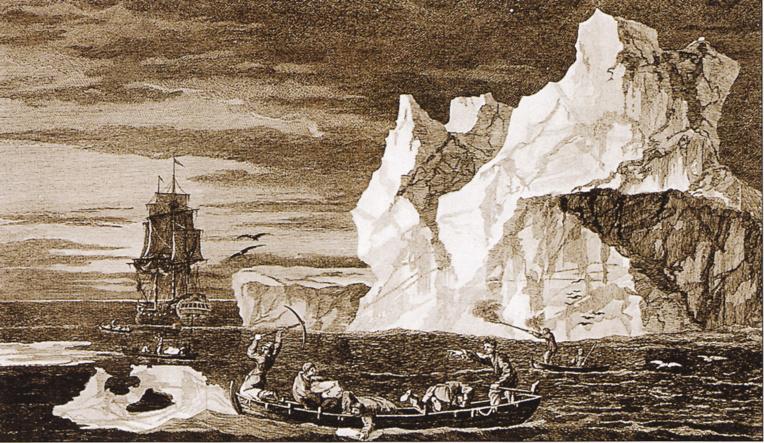 Anecdote du passage de Cook le long de l'Antarctique: le jeune Vancouver, qui était du voyage, se positionna sur le bateau, au moment du demi-tour, de manière à être l'Européen descendu symboliquement le plus au sud de la planète...