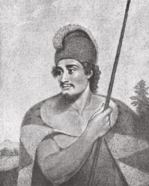 Tianna était un grand chef hawaiien souhaitant s'emparer des navires de Vancouver. De son vrai nom Ka'iana, il avait eu l'occasion, en 1797, de voyager jusqu'en Chine à bord d'un navire de commerce (le Nootka, capitaine John Meares).