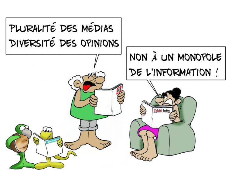 """""""Pluralité des médias"""", par Munoz"""