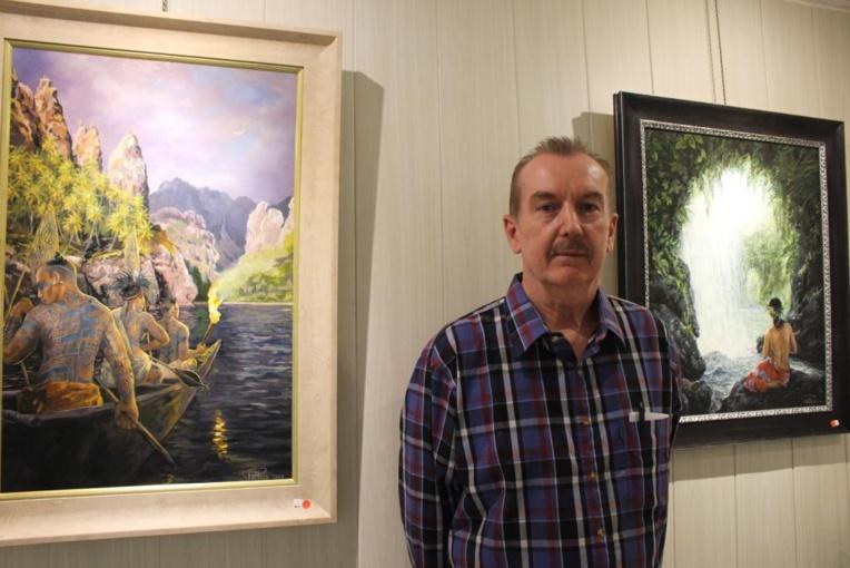 Philippe Peltier inspiré par les archipels polynésiens
