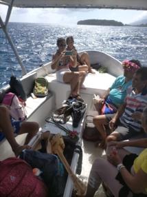 Une excursion nautique charitable
