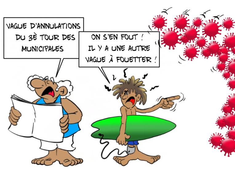 """""""Histoires de vagues"""", par Munoz"""