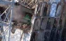 Les corbeaux survolent toujours la centrale de Fukushima