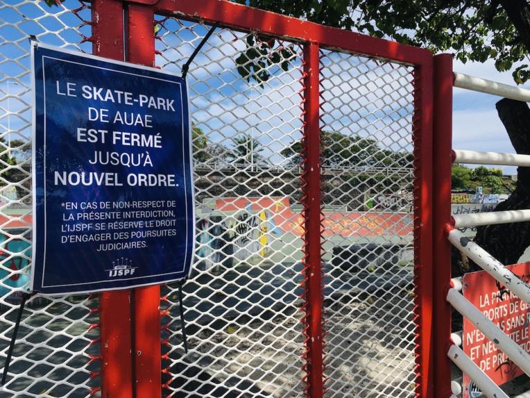 Pour que rouvrent le skate park et le site de l'embouchure