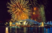 L'Australie un des premièrs pays à passer le cap de la nouvelle année