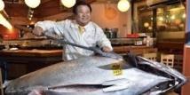 Japon: un thon rouge de 222 kilos vendu... 1,38 million d'euros