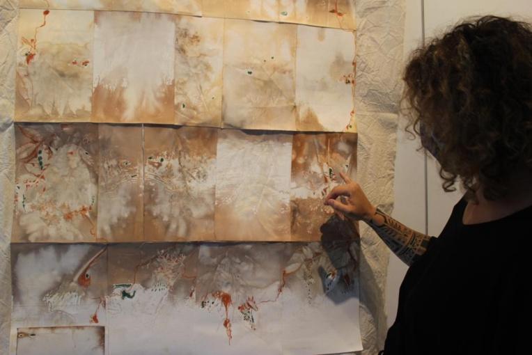 Vaiana Drollet, galeriste depuis 20 ans