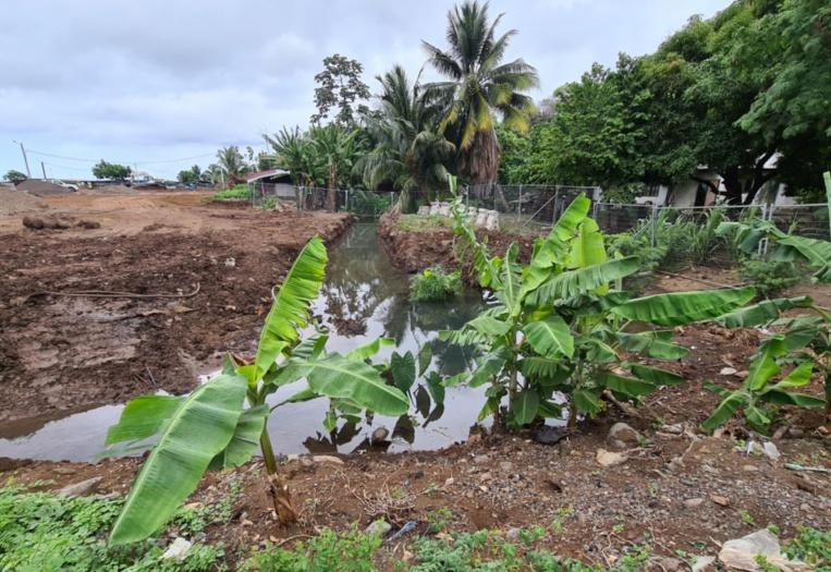 Une source ensevelie par un chantier à Outuaraea