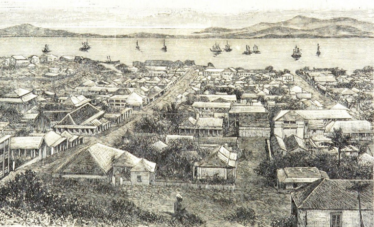 Port-de-France, à cause de la confusion faite avec Fort-de-France en Martinique (notamment au niveau des Postes), fut finalement débaptisée et rebaptisée Nouméa en 1866.