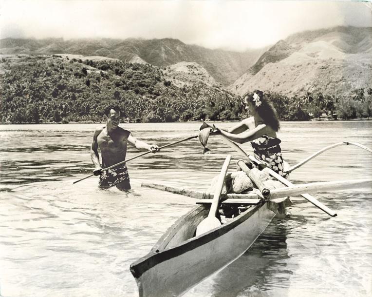 """Toute sa vie, Sylvain magnifia la beauté de nos îles et de ses habitants; il avait un leitmotiv, """"il faut que les gens rêvent""""; et il les fit rêver."""
