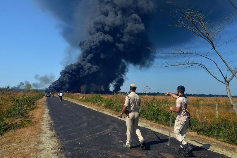 Inde: l'incendie gigantesque d'un puits de pétrole éteint après plus de 5 mois