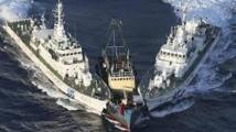 Le Japon repousse des activistes de Taïwan près des îles Senkaku/Diaoyu