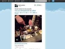 Twitter lance une application de partage de vidéos