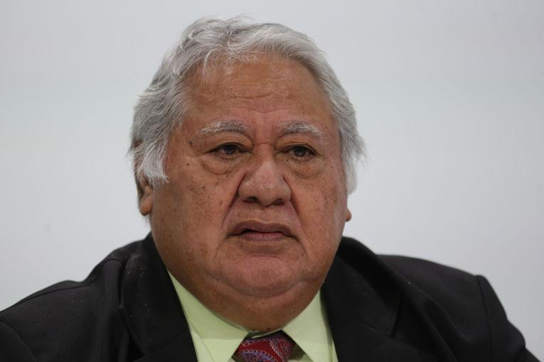 Le chef du gouvernement Tuilaepa Sailele Malielegaoi.