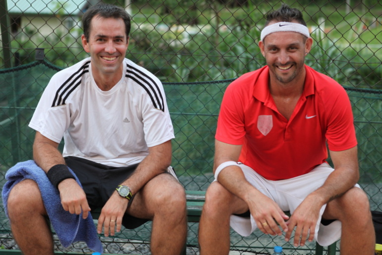 Tennis : Un match au sommet, Cotti vs Gastambide