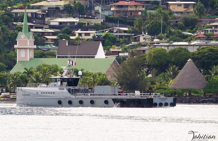 Le navire de la Sea Sheperd à Papeete