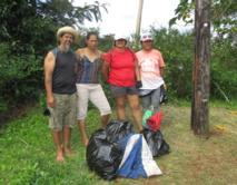 Rurutu confrontée au problème des déchets