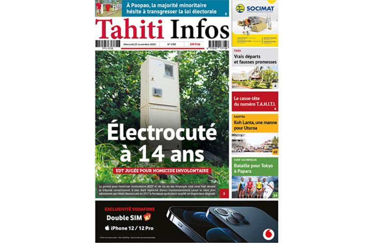 Votre Tahiti Infos à feuilleter gratuitement