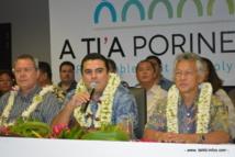 A Ti'a Porinetia : un nouveau mouvement politique. Teva Rohfritsch en leader.