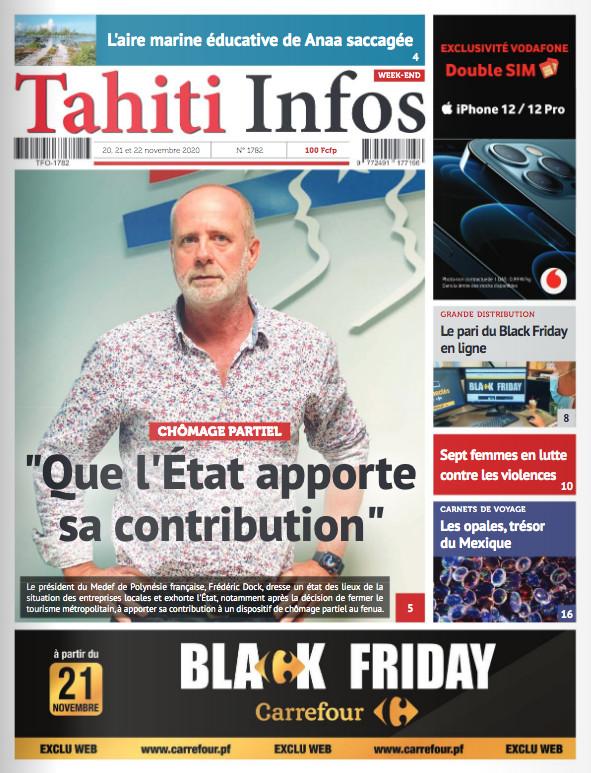 TAHITI INFOS N°1782 du 20 novembre 2020
