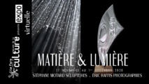 """""""Matière et lumière"""" en ligne jusqu'au 1er décembre"""