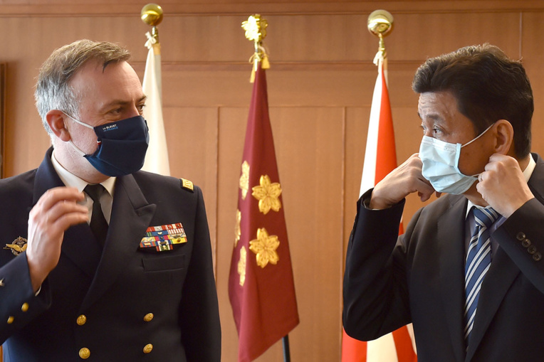 """Le chef de la marine française s'inquiète du """"comportement conquérant"""" de la Chine"""