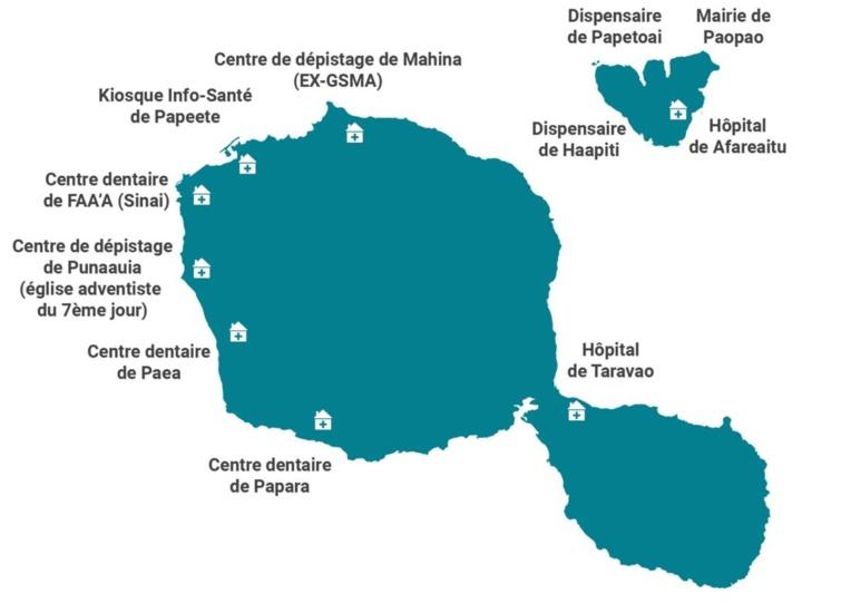 Tests rapides : Où se faire dépister du Covid à Tahiti et Moorea ?