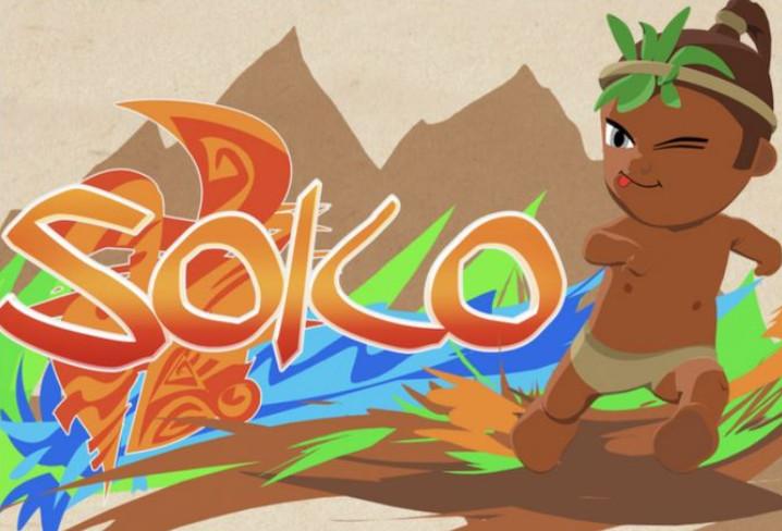 Page enfant : Découvre Soko, petit héros d'une série animée polynésienne