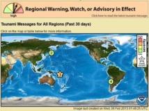 Violent séisme de magnitude 8,0 au large des îles Salomon (MAJ)