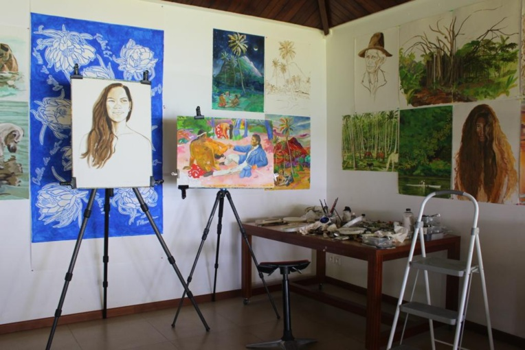 Titouan Lamazou artiste multifacette