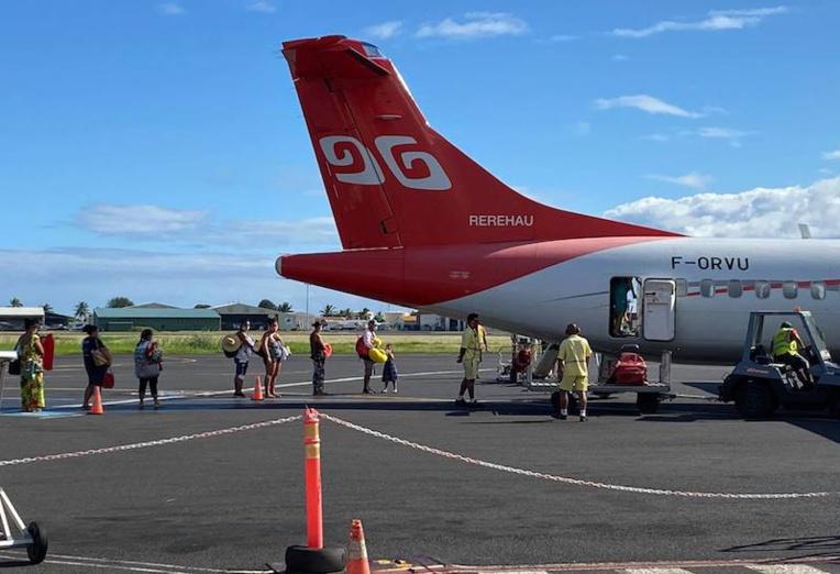 Air Tahiti enjointe de fournir des masques à une employée