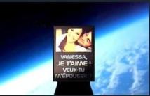 Première mondiale : une demande en mariage dans l'Espace