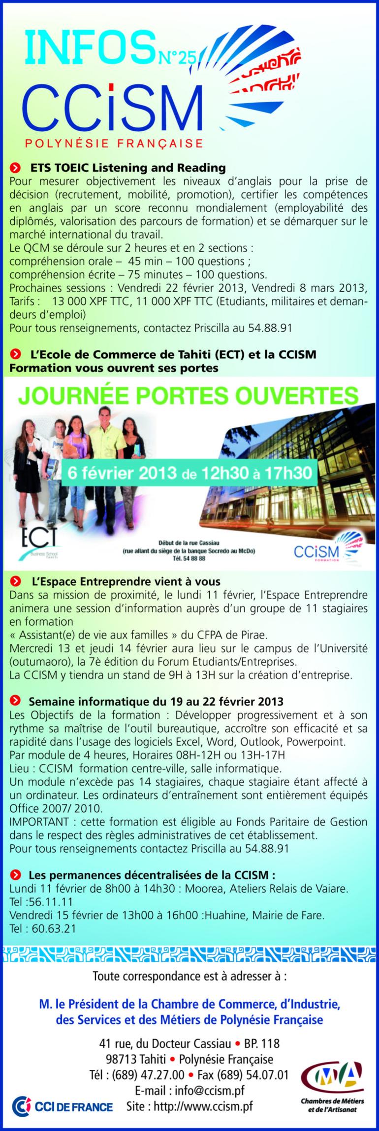 Infos CCISM N°25