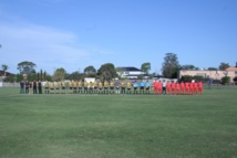 Sydney: Match amical Tahiti Nui / Mounties Wanderers, ambiance...